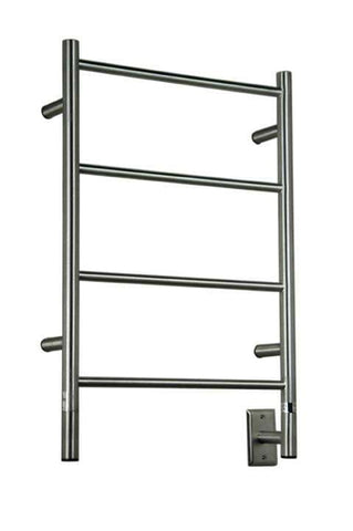 "Amba Jeeves I Straight Hardwired Mounted Towel Warmer  - 20.5""w x 31""h - OnlyTowelWarmers.com  - 3"