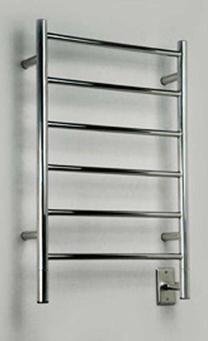 "Amba Jeeves J Straight Hardwired Mounted Towel Warmer / Towel Dryer - 20.5""w x 31""h - OnlyTowelWarmers.com  - 1"