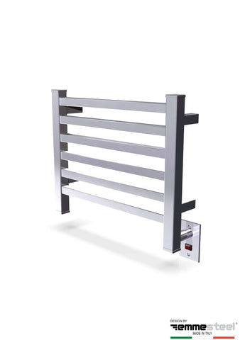 "Amba Quadro Q-2016 Hardwired Mounted Towel Warmer  - 20.5""w x 16.75""h - OnlyTowelWarmers.com  - 5"