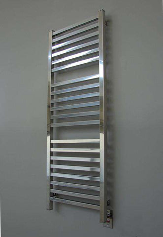 "Amba Quadro Q-2054 Hardwired Mounted Towel Warmer - 20.5""w x 54.5""h - OnlyTowelWarmers.com  - 1"