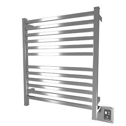 "Amba Quadro Q-2833 Hardwired Mounted Towel Warmer - 28 3/8""w x 33 1/4""h - OnlyTowelWarmers.com  - 1"