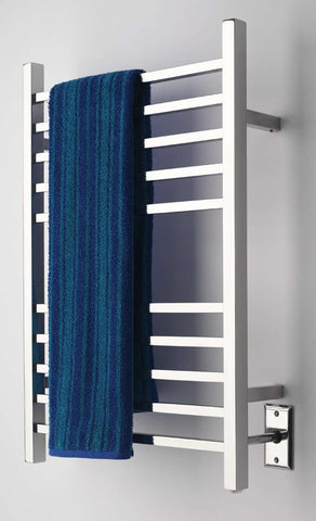 "Amba Radiant Square Hardwired Mounted Towel Warmer - 24""w x 32""h - OnlyTowelWarmers.com  - 1"