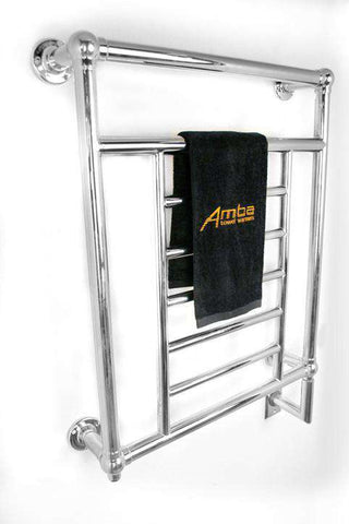 "Amba Traditional T-2536 Hardwired Mounted Towel Warmer  - 25.25""w x 35.75""h - OnlyTowelWarmers.com  - 1"