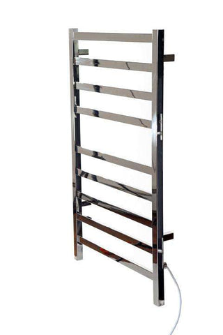 "Kontour Square Electric Plug-In or Hardwired Towel Warmer - 24""w x 39""h - OnlyTowelWarmers.com  - 1"