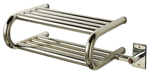 "Myson ES40/1CH CLASSIC COMFORT Hardwired Mounted Towel Warmer - 23""w x 9""h - OnlyTowelWarmers.com  - 4"