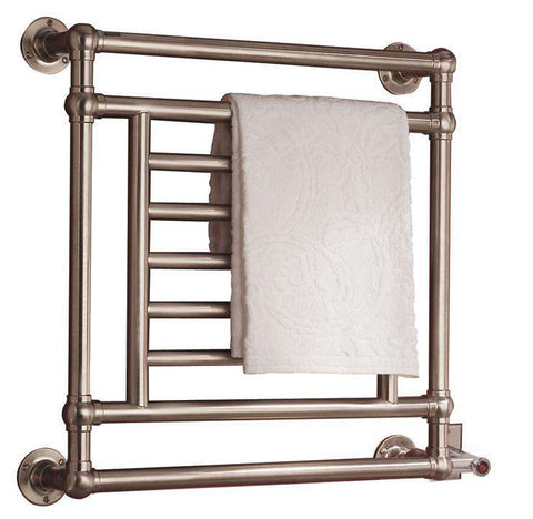 "Myson EUROPEAN TRADITION EB31-1 Hardwired Mounted Towel Warmer - 31""w x 28""h - OnlyTowelWarmers.com  - 1"