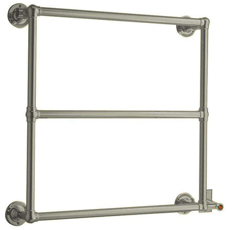 "Myson EUROPEAN TRADITION EB34-1CH Hardwired Mounted Towel Warmer - 31""w x 28""h - OnlyTowelWarmers.com  - 1"