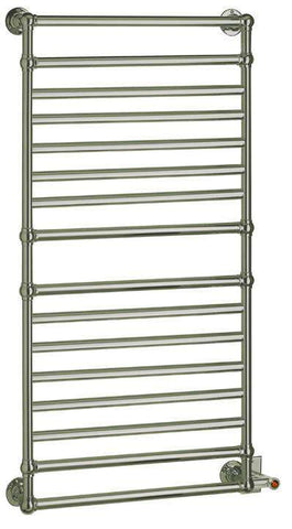 "Myson EUROPEAN TRADITION EB36-1CH Hardwired Mounted Towel Warmer - 22""w x 53""h - OnlyTowelWarmers.com  - 1"