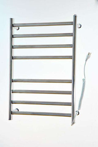"Myson WDIA08 8 Bar Gem  Mounted Towel Warmer Plug in - 20""w x 30""h - OnlyTowelWarmers.com"
