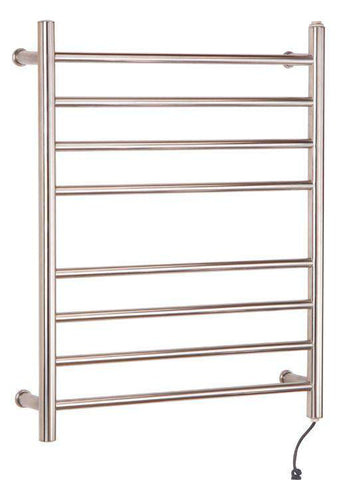 "Myson WPRL08 8 Bar Gem Mounted Plug in Towel Warmer - 24""w x 30""h - OnlyTowelWarmers.com"