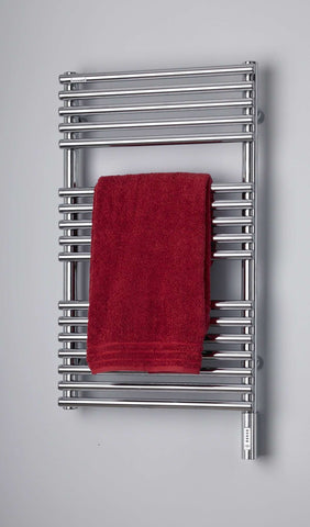 "Runtal Neptune NTR-4620 Hardwired Mounted Towel Warmer - 19.5""w x 45.7""h - OnlyTowelWarmers.com  - 1"