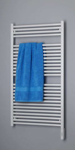 "Runtal Radia RTRE-4624 Plug in Mounted Towel Warmer - 23.6""w x 45.4""h - OnlyTowelWarmers.com  - 1"