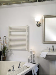 "Runtal Radia RTREG-4624 Plug in Mounted Towel Warmer - 23.6""w x 45.4""h - towelwarmers"