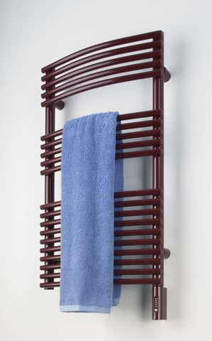 "Runtal Solea STR-5420 Hardwired Mounted Towel Warmer - 19.7""w x 53.3""h - OnlyTowelWarmers.com  - 1"