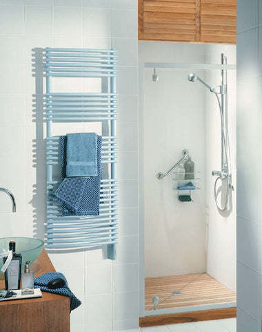 "Runtal Solea STRED-5420 Hardwired Mounted Towel Warmer - 19.7""w x 53.3""h - towelwarmers"