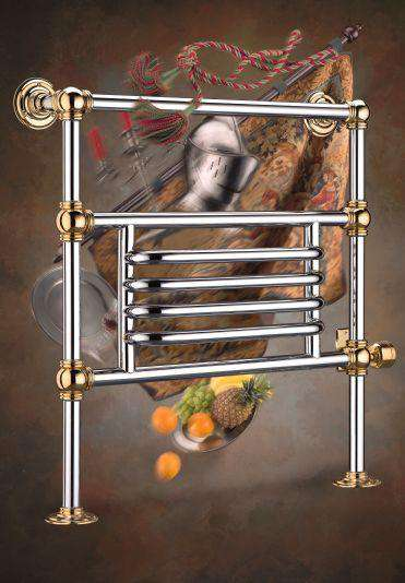 "Wesaunard Baronial 5Z Electric Towel Warmer - 35.5""w x 37.5""h - towelwarmers"