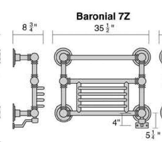 Only Towel Warmers Coupon: Wesaunard Baronial 7Z Electric Towel Warmer