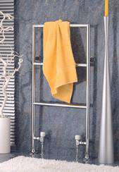 "Wall Mounted Towel Warmer - Wesaunard Builder 1Z Electric Towel Warmer - 23.5""w X 35.5"" H"