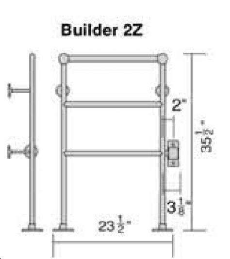 Only Towel Warmers Coupon: Wesaunard Builder 2Z Electric Towel Warmer