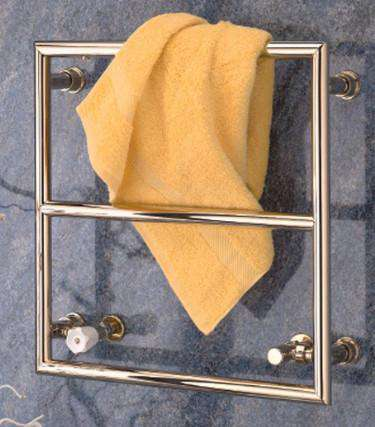 "Wall Mounted Towel Warmer - Wesaunard Builder 4Z Electric Towel Warmer - 23.5""w X 23.5""h"