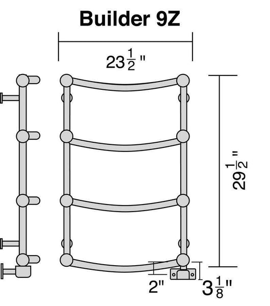 Only Towel Warmers Coupon: Wesaunard Builder 9Z Electric Towel Warmer