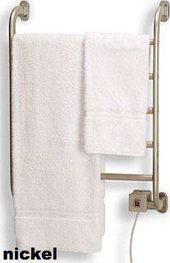 "Warmrails Hard Wired/Soft Wired Regent Heated Towel Warmer - 18-5/8""w x 25-1/4""h - OnlyTowelWarmers.com  - 1"