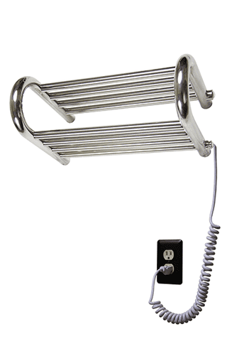 "Myson WERD01 Gem Plug in Shelf Wall Mounted Towel Warmer - 18.1""w x 11.8""h"