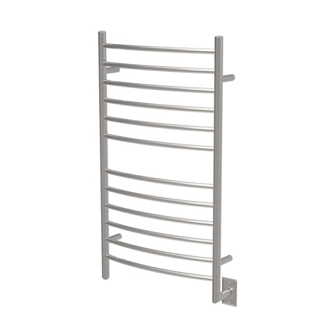 "Amba Radiant Large Hardwired Curved Towel Warmer - 23.6""w x 41.3""h - towelwarmers"