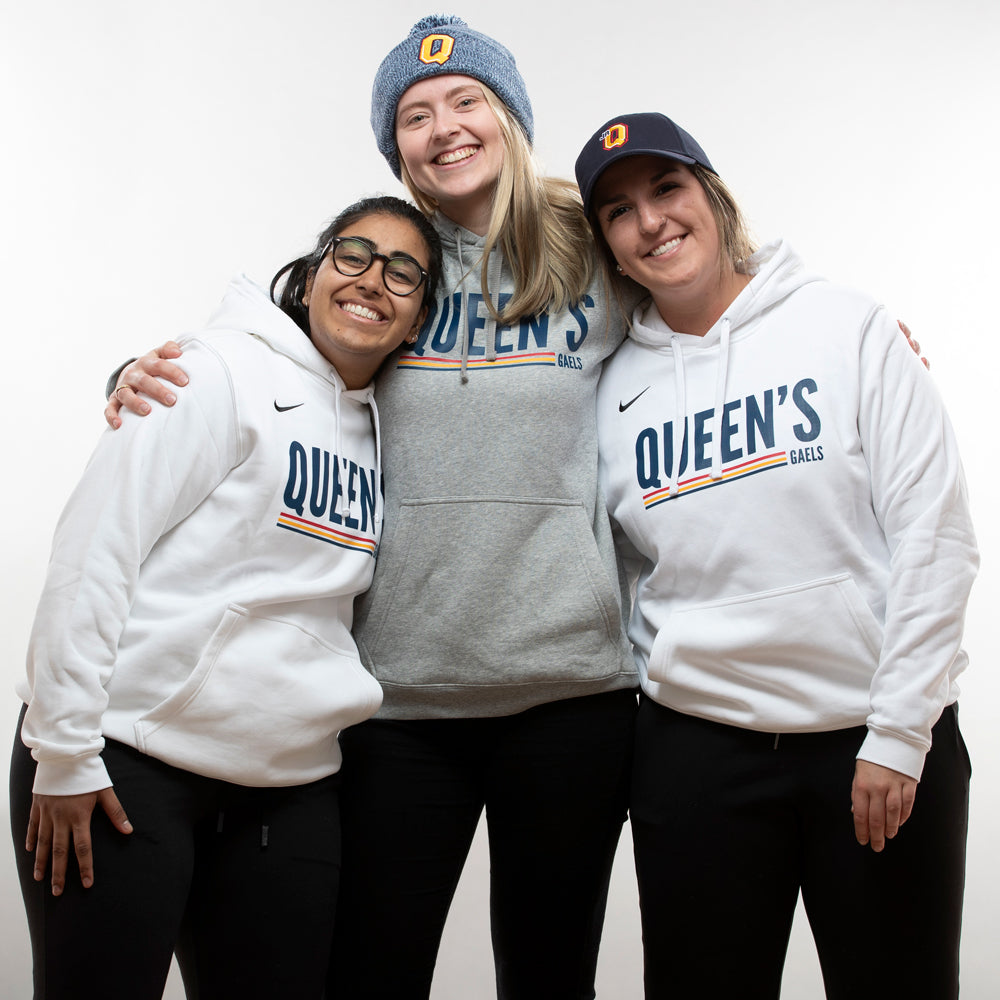 Nike Hoodie with Three Female Models