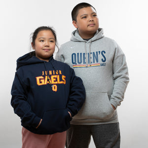 Nike Hoodie with Two Child Models