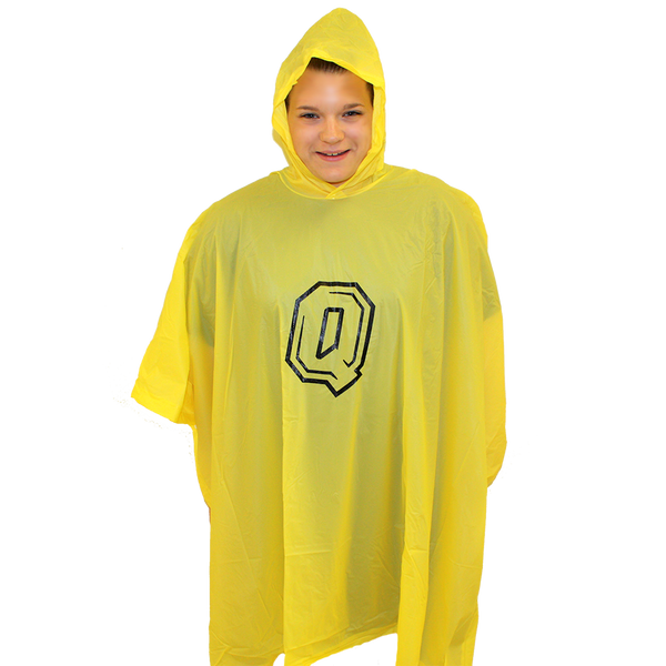 Rain Poncho - Queen's Q-Shop