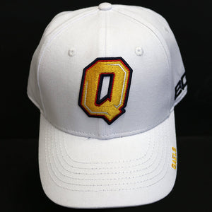 White Queen's Embroidered Snapback Hat