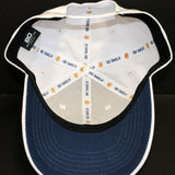 Ball Cap White Adjustable