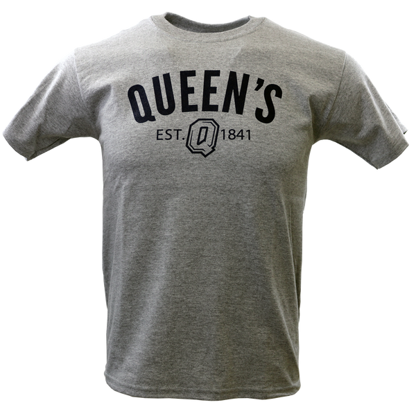 Queen's Est. 1841 Grey T-Shirt
