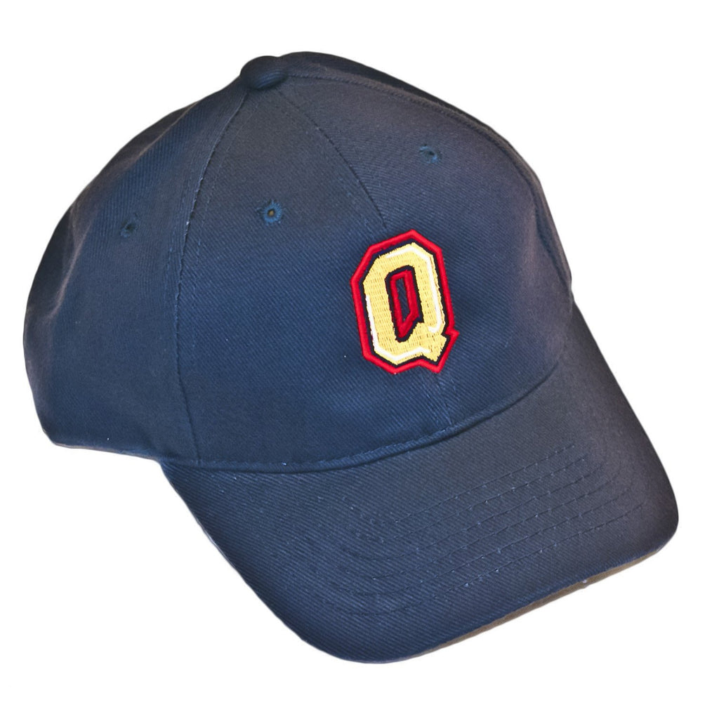 Queen's Baseball Hat Adjustable Navy Blue