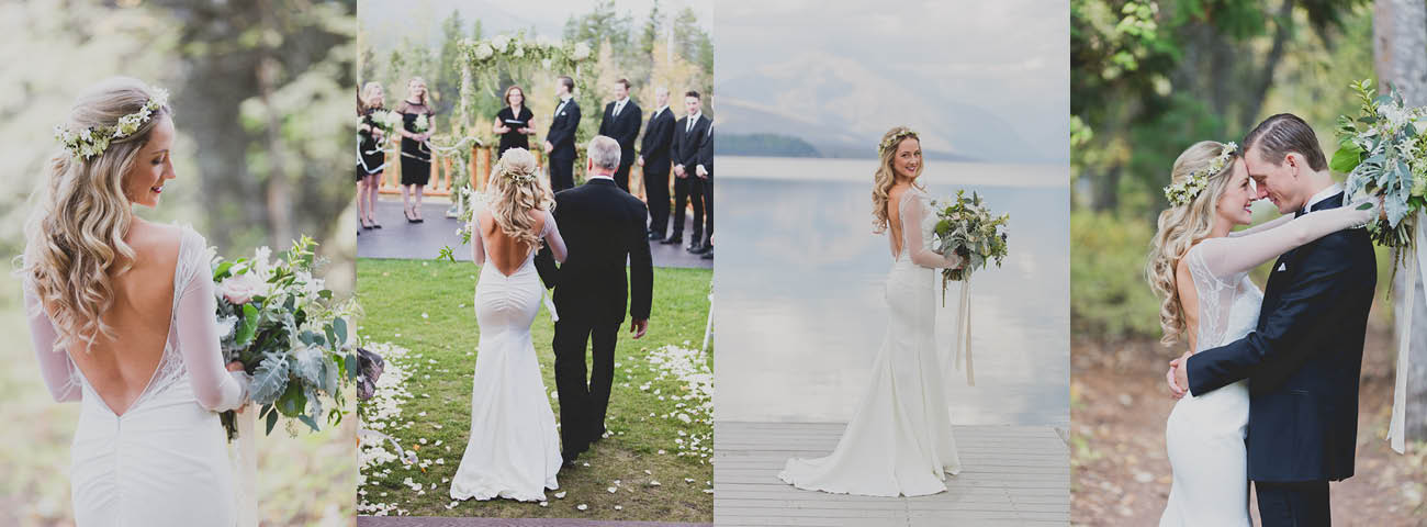 727827542a5 Verona Gown Wed at Glacier National Park - September
