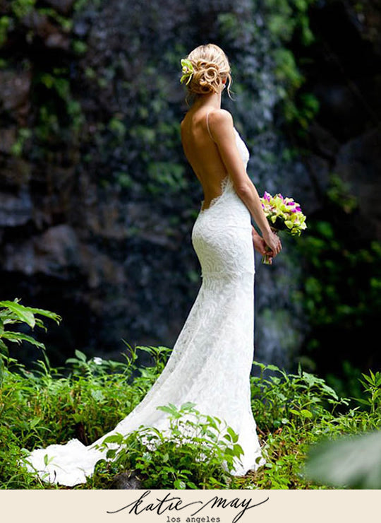 Katie Mays First Wedding Gown