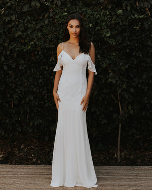 LACE TULUM BRIDAL GOWN