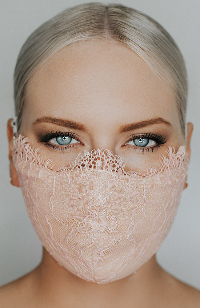 Model wearing Provocateur in Blush/Nude by Katie May
