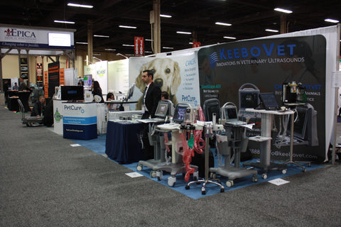 Western Veterinary Conference Exhibit KeeboVet