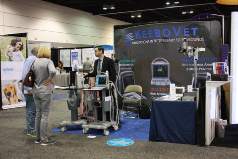 North American Veterinary Conference Exhibit Hall KeeboVet