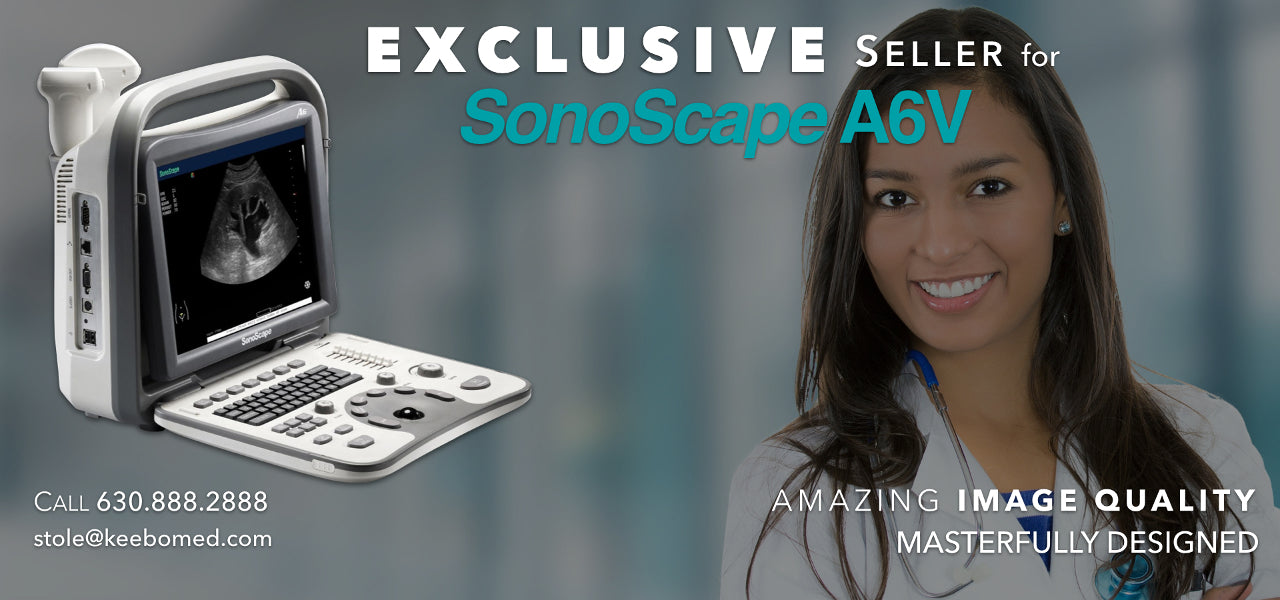 SonoScape A6V Veterinary Ultrasound Machines | KeeboMed