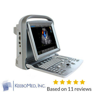 Color Doppler Chison ECO 5Vet Veterinary Ultrasound Machine & Two Probes
