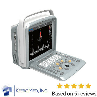 Chison Q9 Color Doppler Ultrasound Scanner With Two Probes Cardiac and Vascular