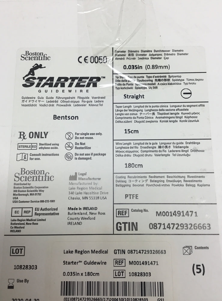 Boston Scientific Starter Guidewire