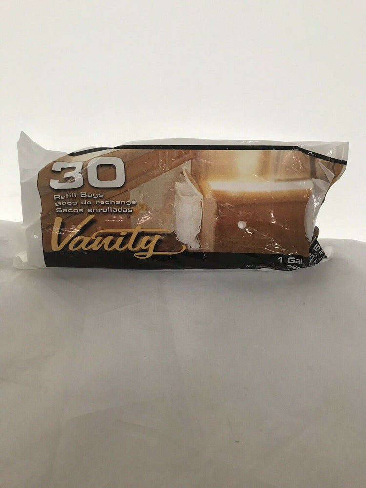 Vanity Refill Garbage Bags 30 ct, 1 Gal, Case Of 17 (315KMD)