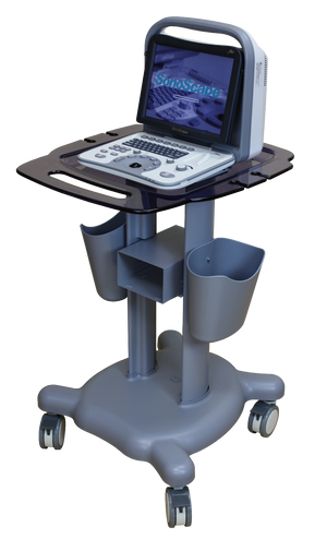 Deluxe Trolley Cart, KM-6, For SonoScape A6 Portable Ultrasounds | KeeboMed