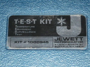 JEWETT 1000945 Temperature Equipment Surveillance Test (28DM)