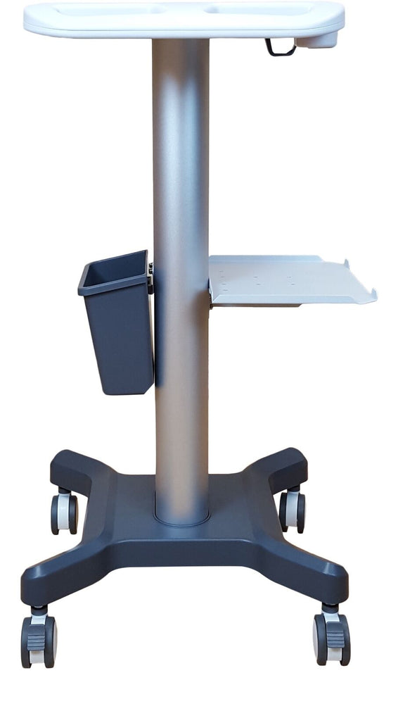 "Medical Mobile Trolley-Cart -Portable Ultrasound KM-5, KeeboMed 43"" Tall"