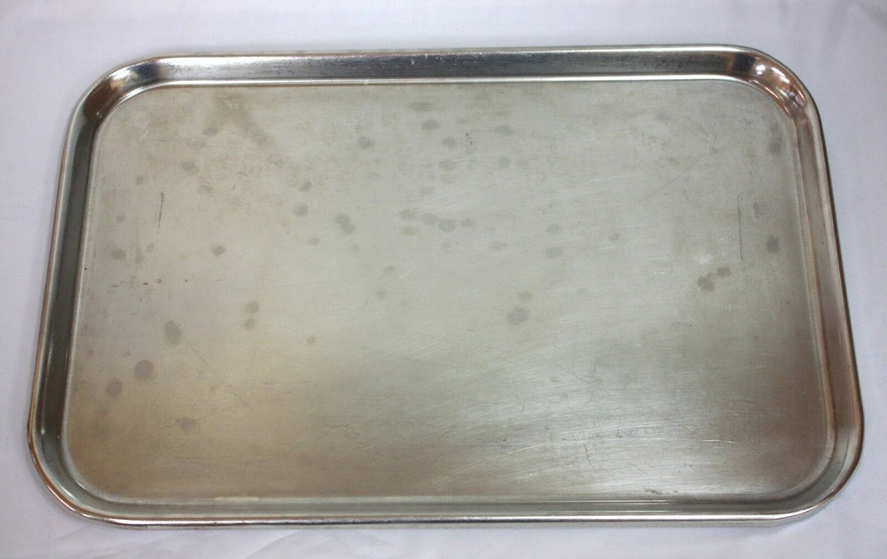 NSF Testing Laboratory 18-8 Stainless Steel Instrument Tray (244GS)